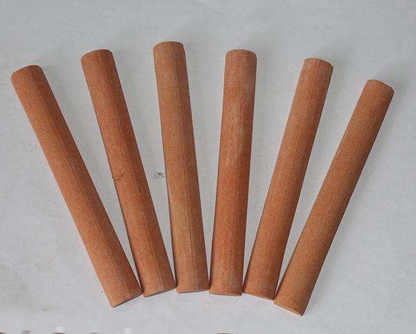 红色圆柱形油石批发